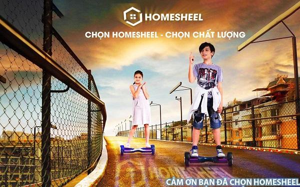 Xe điện cân bằng 2 bánh HOMESHEEL cho trẻ nhỏ